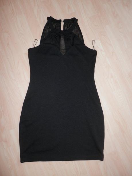 Černé společenské šaty - vel. 40, 40
