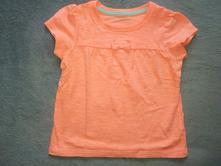 Bavlněné tričko s mašličkou zn. mothercare, mothercare,86