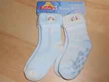 2x ponožky 11-12,5cm vel. 80-86,