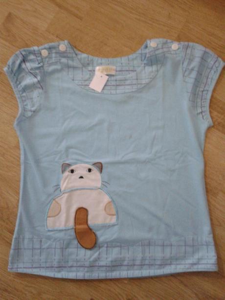 Kočičí tričko, 140
