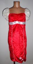 Kostým šaty paní santová, smiffys, vel. l., l