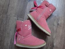 Nádherné kožené blikací teplé boty geox v.27, geox,27