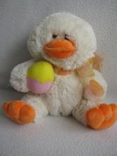 Plyšová hračka-kuřátko s vajíčkem,