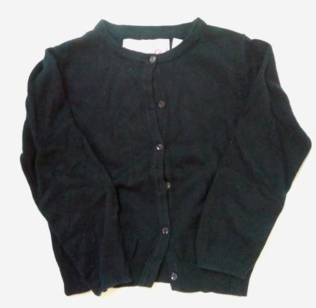 S99 - dívčí černý svetr, young dimension,110