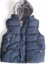 Prošívaná vesta s kapucí, rebel,122