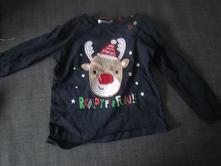Tričko s vánočním sobem, pepco,86
