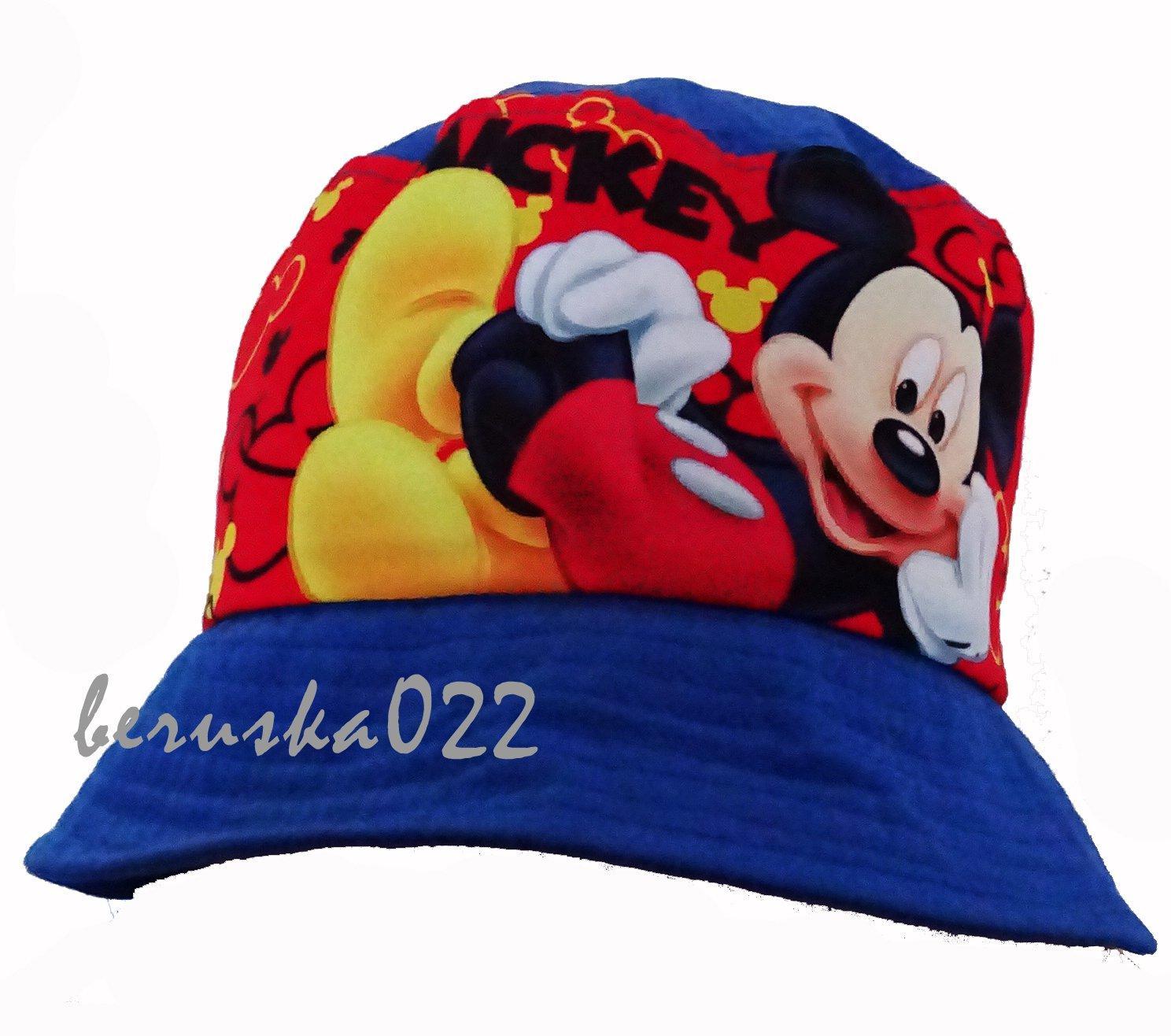 Klobouček mickey mousem s uv ochranou 2d9ec78df0