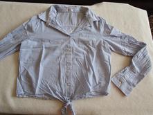 Velmi pěkná, moderní dívčí košile - halenka, 146