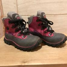 Zimní dívčí boty fare vel. 27, cena s poštovným, fare,27