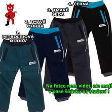 Perfektní vyteplené softshellové kalhoty, akce, wolf,86