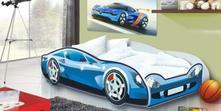 Dětská postel auto speedy modré, 80,180