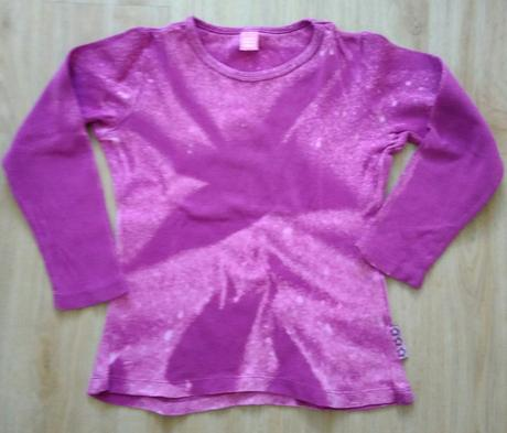 E223 - růžové batikované tričko, dopodopo,122