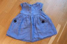 Džínové šaty, next,86