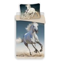 Dětské povlečení 140x200 kůň bílý 01, 140,200