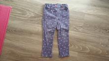 Plátěné srdíčkové kalhoty, f&f,92