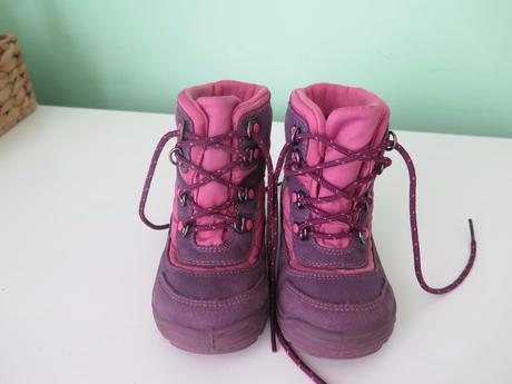 Zimní boty richter s membránou - top stav, richter,23