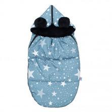 Luxusní fusák new baby hvězdičky,