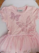Šaty next s motýlkem - vel. 80, next,80