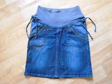 Těhotenská riflová sukně blueways, 38
