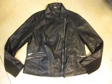 D397     koženková bunda f&f vel. 46, f&f,46