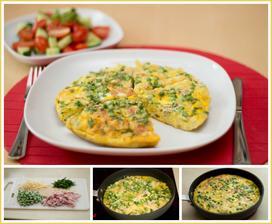 Omeleta co dům dal