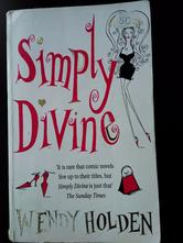 Simply devine - wendy holden (anglicky),
