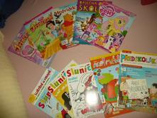 Časopisy dětské animáček sluníčko pony princezna,