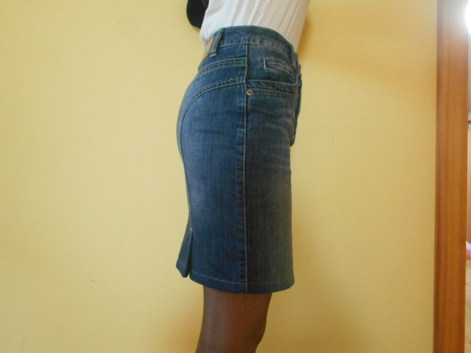 Zobraz celé podmínky. Dámská   dívčí riflová sukně ... 02e85be16e
