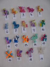 Zvířátka- my little pony/ks.55kč,