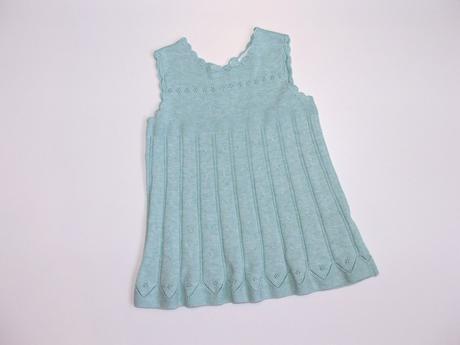 P604 úpletové šaty vel. 74, next,74