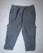Zateplené plátěné kalhoty, pepco,50
