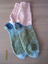 Pletené ponožky,