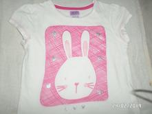 Tričko králíček, f&f,122