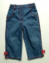 Slabé riflové kalhoty rifle džíny vel 80 zn.george, george,80