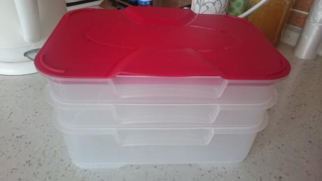 Plastová krabička do lednice,