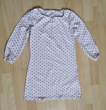 Noční košilka se srdíčky tcm vel. 110/116, tcm,110