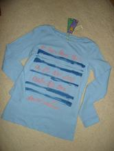 Tričko modré benetton vel 11/12 let 160 cm, benetton,152