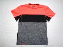 Nádherné sportovní oranžovošedé tričko, c&a,158