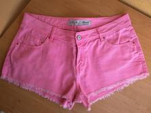 """Riflové šortky růžové vel. """"40"""", denim,40"""