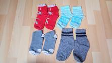Ponožky - 4 páry, vel. 30, 30