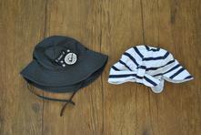Letní čepice a klobouk, f&f,80