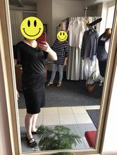 Nová černá těhotenská halenka, s