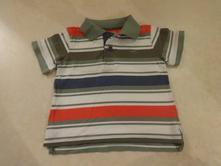 Pruhované polo tričko, mothercare,92
