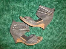 Luxusní boty s řetízkama graceland -alá riflovina, graceland,40