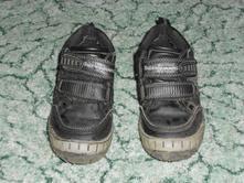 Černé kožené boty, bubble gummers,27