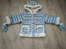 Zimní kojenecký kabátek, ladybird,86
