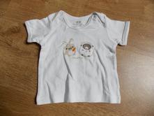 Bavlněné tričko, h&m,68