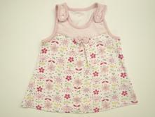 Šaty bavlněné květované vel. 0-3 měsíce, marks & spencer,62