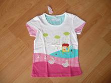 Dívčí letní tričko vel.104-110, nové, 104 / 110