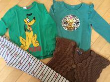 Set měnící tričko+ legíny + vesta vel. 116/122, palomino,116